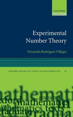 Experimental Number Theory - Villegas, Fernando