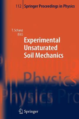 Experimental Unsaturated Soil Mechanics - Schanz, Tom (Editor)