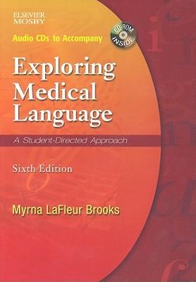 Exploring Medical Language Audio CDs - Brooks, Myrna LaFleur, and LaFleur Brooks, Myrna