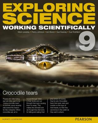 Exploring Science: Working Scientifically Student Book Year 9 - Levesley, Mark, and Johnson, P, and Kearsey, Susan