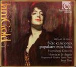 Falla: Siete canciones populares espa�oles; Harpsichord Concerto