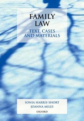 Family Law - Harris-Short Sonia Miles Joanna