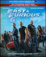 Fast & Furious 6 [2 Discs] [Includes Digital Copy] [UltraViolet] [Blu-ray] - Justin Lin