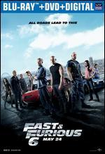 Fast & Furious 6 [Includes Digital Copy] [UltraViolet] [Blu-ray/DVD]