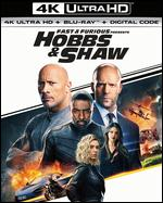 Fast & Furious Presents: Hobbs & Shaw [Includes Digital Copy] [4K Ultra HD Blu-ray/Blu-ray] - David Leitch