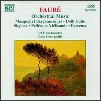 Fauré: Orchestral Music - Lynda Russell (soprano); Michael Healy (violin); RTE Sinfonietta; John Georgiadis (conductor)