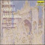 Fauré: Requiem, Op.48; Duruflé: Requiem, Op.9