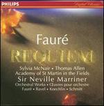 Faur�: Requiem, Op.48; Pavane; Koechlin: Choral sur le nom de Faur�; Schmitt: In Memoriam, Op. 72; Ravel: Pavane