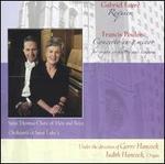 Faur?: Requiem; Poulenc: Concerto in G minor