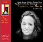 Faur?, Strauss, Mahler, Copland, Ives, Pasatieri, Canteloube, Schonberg: Lieder