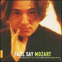 Fazil Say Plays Mozart - Fazil Say (violin cadenza); Fazil Say (piano); Zürcher Kammerorchester; Howard Griffiths (conductor)