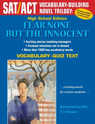 Fear None But the Innocent: High School Vocabulary-Quiz Text - Karelitz, Raymond