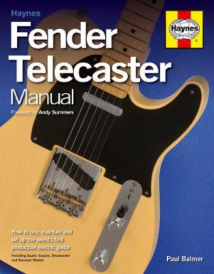 Fender Telecaster Manual - Balmer, Paul