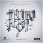 Ferdinand Rebay: Sonatas for Violin and Guitar; Sonatas for Viola and Guitar