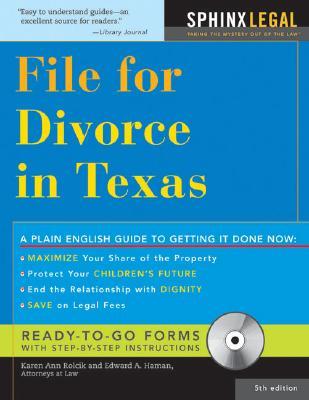 File for Divorce in Texas - Rolcik, Karen Ann, and Haman, Edward A, Atty.