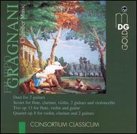 Filippo Gragnani: Chamber Music - Andrea Lieberknecht (flute); Andreas Krecher (violin); Consortium Classicum; Johannes Tappert (guitar);...