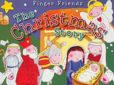 Finger Friends: The Christmas Story - Page, Nick