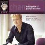 Finzi: Dies Natalis; Romance for Strings; Walton: Sonata for Strings