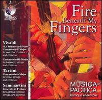 Fire Beneath My Fingers - Claire Jolivet (violin); Elizabeth Blumenstock (violin); Judith Linsenberg (recorder); Judith Linsenberg (recorder);...