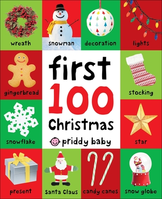 First 100 Christmas Words - Priddy, Roger