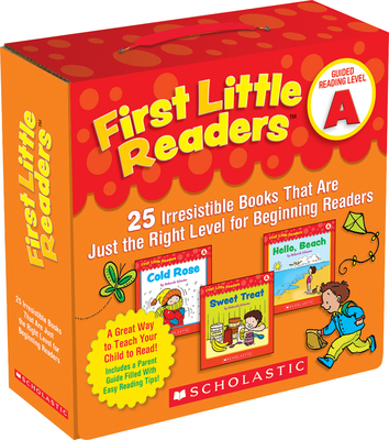 First Little Readers: Guided Reading Level a (Parent Pack): 25 Irresistible Books That Are Just the Right Level for Beginning Readers