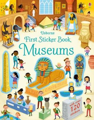 First Sticker Book Museums - Bathie, Holly