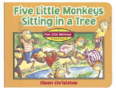 Five Little Monkeys Sitting in a Tree -