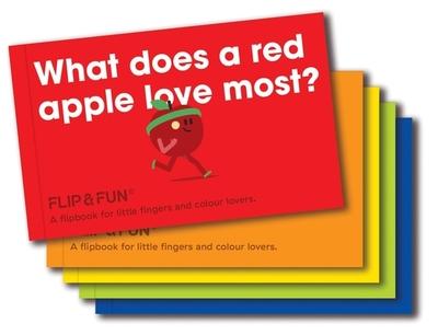 FLIP&FUN: Fruit Boxset: A flipbook for little fingers and colour lovers - Viction, Viction