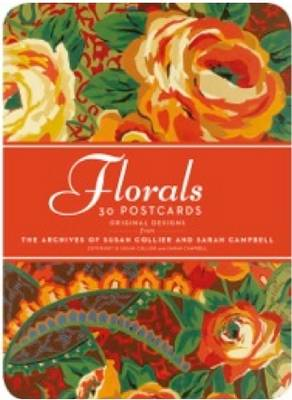 Florals: 30 Postcards: Original Designs from the Archives of Susan Collier Sarah Campbell -