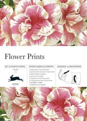 Flower Prints: Gift & Creative Paper Book Vol. 77 - Van Roojen, Pepin
