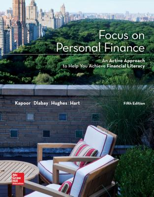 Focus on Personal Finance - Kapoor, Jack R