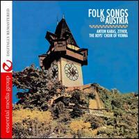 Folk Songs of Austria - Anton Karas/The Vienna Boys Choir