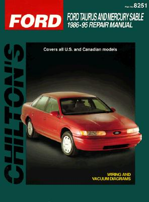 Ford Taurus and Sable, 1986-95 - Chilton Automotive Books, and The Nichols/Chilton, and Chilton