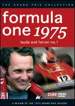 Formula One Review: 1975 - Lauda and Ferrari No. 1 -