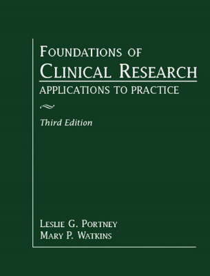 Foundations of Clinical Research: Applications to Practice - Portney, Leslie Gross, and Watkins, Mary P, DPT, MS