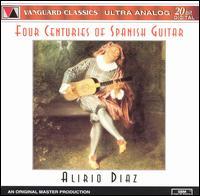 Four Centuries of Spanish Guitar - Alirio Diaz (guitar); Vicente Emilio Sojo (vocal harmony)