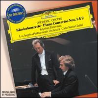 Frédéric Chopin: Klavierkonzerte Nos. 1 & 2 - Krystian Zimerman (piano); Los Angeles Philharmonic Orchestra; Carlo Maria Giulini (conductor)