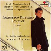 Francesco Tristano Schlimé, Piano  - Francesco Tristano (piano); Russian National Orchestra; Mikhail Pletnev (conductor)