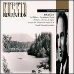 Franck: Sonata for violin in A; Prelude M21