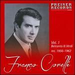 Franco Corelli, Vol. 1: Belcanto & Verdi