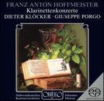 Franz Anton Hoffmeister: Klarinettenkonzerte