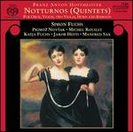 Franz Anton Hoffmeister: Notturnos (Quintets) for Oboe, Violin, Two Violas, Horn & Bassoon