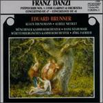 Franz Danzi: Potpourris Nos. 1 - 3; Concertino Op. 47; Concertante Op. 41