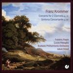 Franz Krommer: Concerto for 2 Clarinets, Op. 35; Sinfonia Concertante, Op. 80