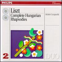 Franz Liszt: Complete Hungarian Rhapsodies - Michele Campanella (piano)