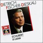 Franz Schubert: 21 Lieder