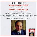 Franz Schubert: Masses In A Flat & C