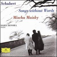 Franz Schubert: Songs Without Words - Daria Hovora (piano); Mischa Maisky (cello)