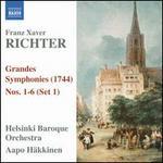 Franz Xaver Richter: Grandes Symphonies, Nos. 1-6