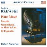 Frederic Rzewski: Piano Music